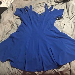 Blue Lane Bryant Dress Size 24